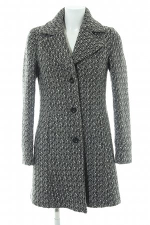 Sisley Heavy Pea Coat weave pattern casual look