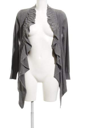 Sisley Cardigan grau Casual-Look