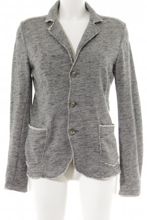 Sisley Cardigan grau meliert Street-Fashion-Look