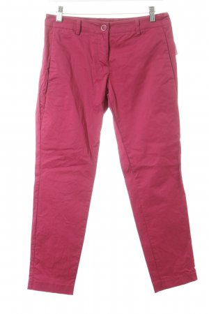 Sisley Chinohose magenta Business-Look