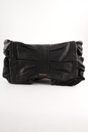Sisley Clutch zwart wetlook