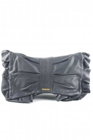 Sisley Clutch schwarz Glanz-Optik