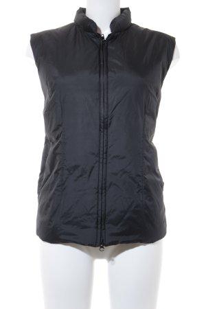 Sisley Daunenweste schwarz schlichter Stil