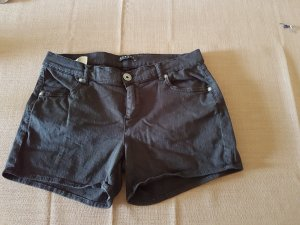 Sisley Denim-Short, schwarz