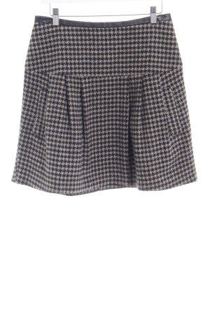 Sisley Plaid Skirt houndstooth pattern casual look