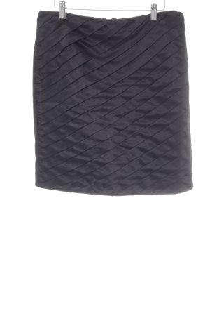 Sisley Faltenrock schwarz Elegant