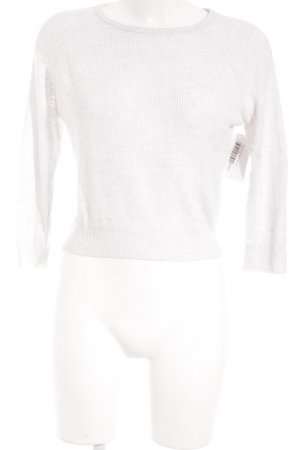 Sisley Fine Knitted Cardigan white casual look