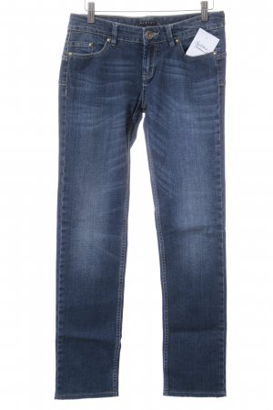 Sisley Pantalon cinq poches bleu foncé style décontracté