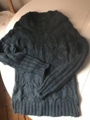 Sisley Grobstrick-Pullover, Gr. S, Mohair, Wolle, gut erhalten