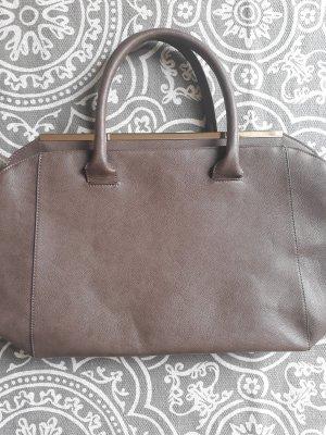 Sisley Handtas grijs-bruin
