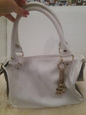 Sisley Handtasche mit goldenem logo Schriftzug