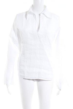 Sisley Hemd-Bluse weiß Business-Look
