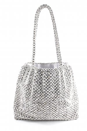 Sisley Carry Bag silver-colored casual look