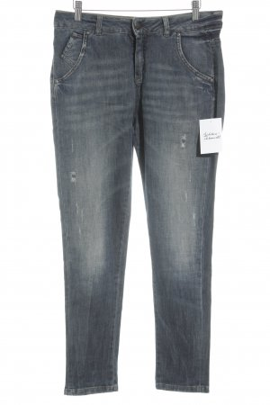 Sisley High Waist Jeans graublau Casual-Look
