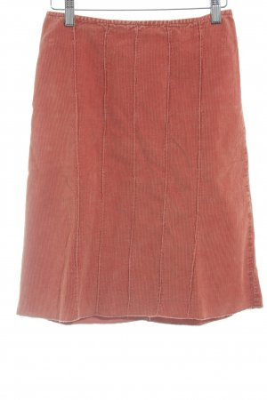 Sisley High Waist Rock dunkelorange Casual-Look