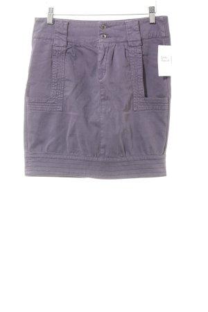 Sisley High Waist Rock grauviolett Casual-Look