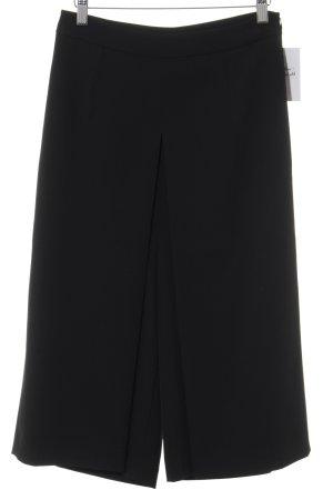 Sisley Hosenrock schwarz klassischer Stil