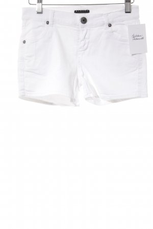 Sisley Hot Pants weiß Casual-Look