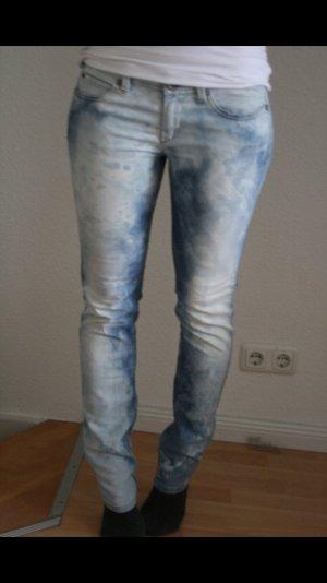 Sisley jeans batik blogger vintage hipster 80er Jahre