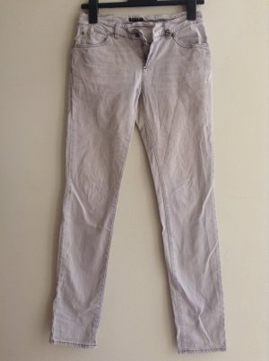 Sisley Jeans HOSE Grau 38 S denim SLIM Distressed