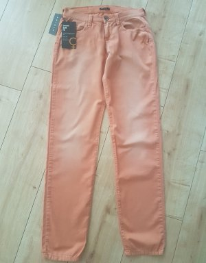 Sisley Jeans Modell Copenhagen Slim Fit Regular Waist Orange Washed Herbst W 28 L 32 S 36