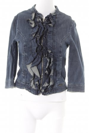 Sisley Denim Blazer blue casual look