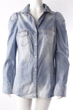 Sisley Jeanshemd blau