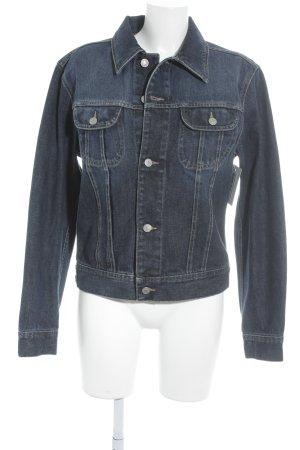 Sisley Jeansjacke dunkelblau schlichter Stil