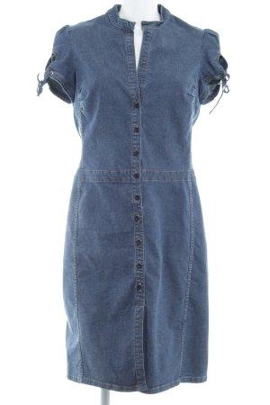 Sisley Jeanskleid stahlblau Casual-Look