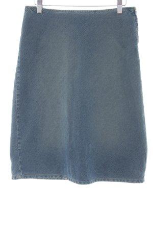 Sisley Jeansrock blau Country-Look