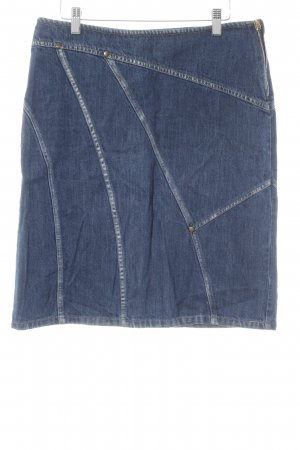 Sisley Jeansrock dunkelblau Jeans-Optik