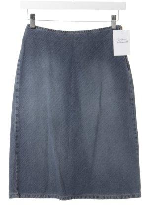 Sisley Jeansrock graublau Casual-Look