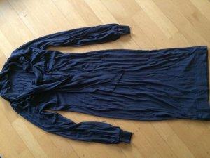 Sisley Jersey Kleid Blau mit Schuppen