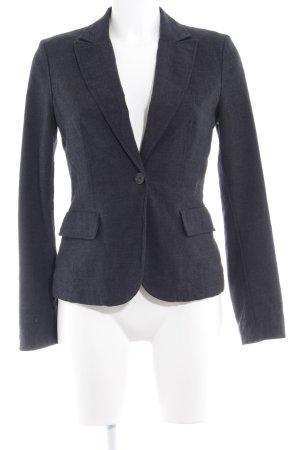 Sisley Jerseyblazer dunkelblau Business-Look