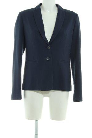 Sisley Jerseyblazer dunkelblau-schwarz Casual-Look