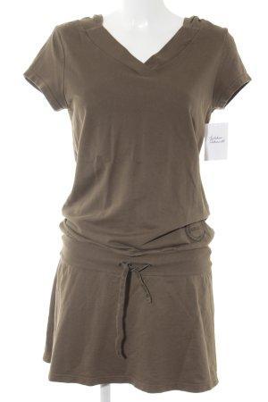 Sisley Jerseykleid khaki Casual-Look