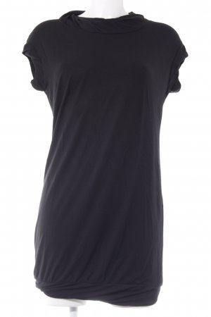 Sisley Jerseykleid schwarz Casual-Look