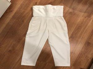 Sisley jumpsuit Overall weiß Einteiler