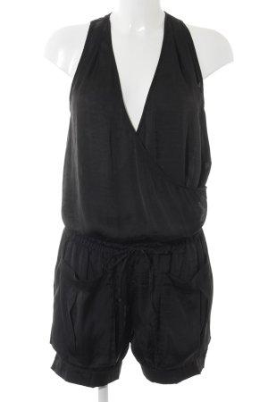 Sisley Jumpsuit schwarz Party-Look