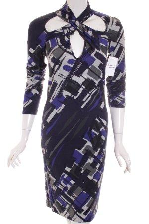 Sisley Kleid abstraktes Muster Casual-Look