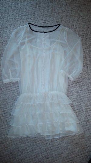 Sisley Kleid Chiffonkleid Minikleid