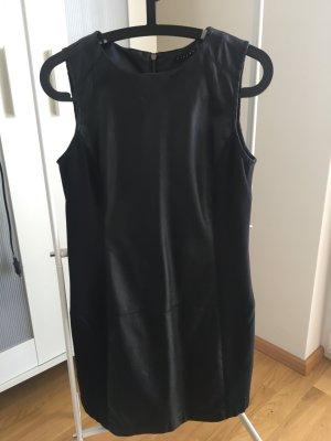Sisley Kleid in Lederoptik