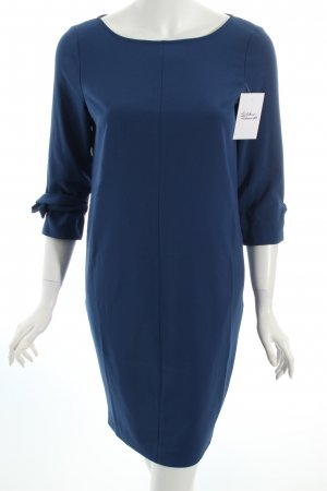 Sisley Kleid petrol schlichter Stil