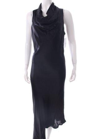 Sisley Kleid schwarz Eleganz-Look