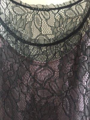 Sisley Lace Dress black-grey lilac