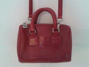 Sisley Handtas rood-donkerrood Leer