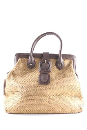 Sisley Borsetta a cestino marrone-marrone chiaro modello web stile classico