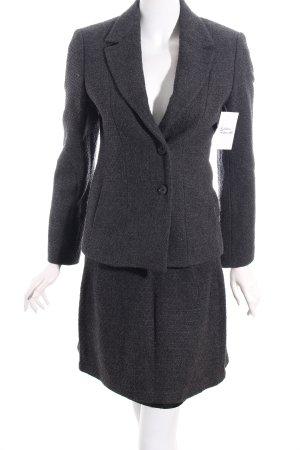 Sisley Kostüm dunkelgrau Casual-Look