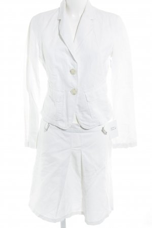 Sisley Kostüm weiß Casual-Look