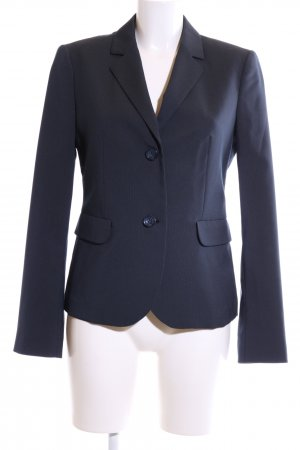 Sisley Kurz-Blazer blau Business-Look